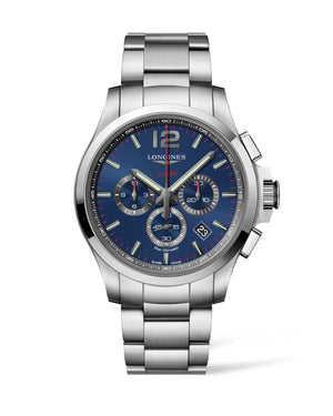 LONGINES Conquest V.H.P. 44mm Blue Dial Stainless Steel  Longines