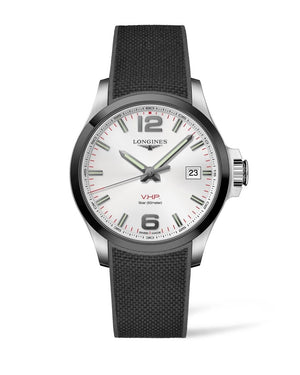 LONGINES Conquest V.H.P. 43mm Stainless Steel/Ceramic  Longines