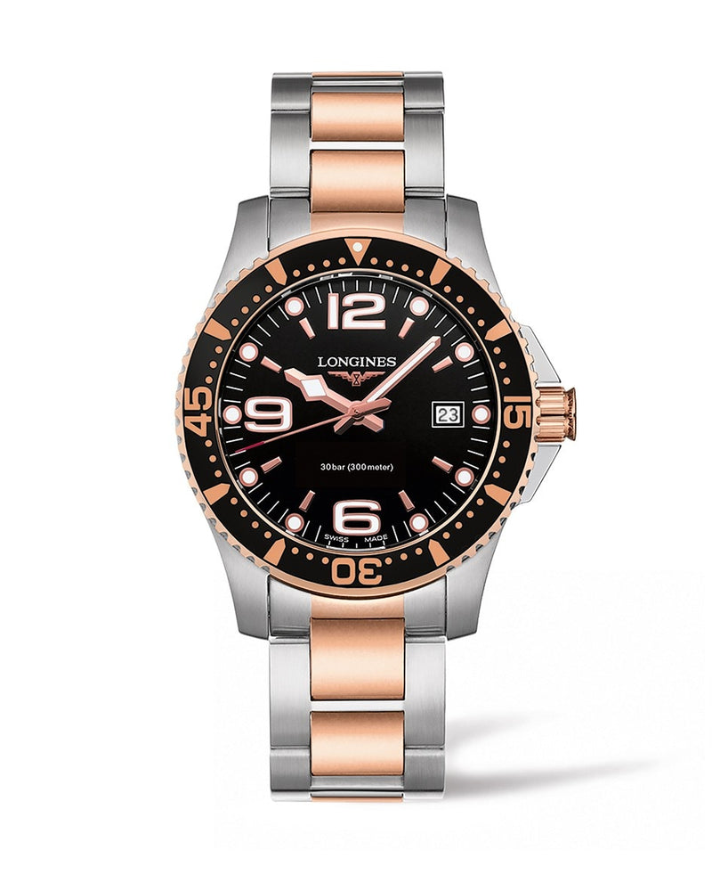LONGINES HydroConquest 41mm Stainless Steel/PVD Diving Watch  Longines