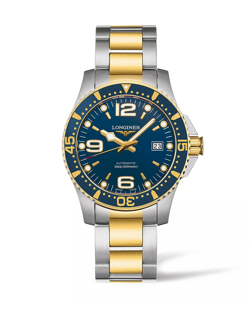 LONGINES HydroConquest 41mm Blue Dial Stainless Steel/PVD Automatic Diving Watch  Longines