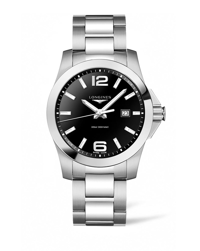 LONGINES Conquest 43mm Stainless Steel  Longines