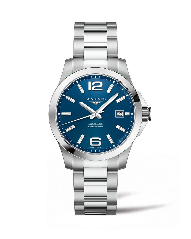 LONGINES Conquest 39mm Blue Dial Automatic  Longines