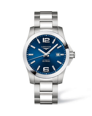 LONGINES Conquest 41mm Blue Dial Automatic  Longines