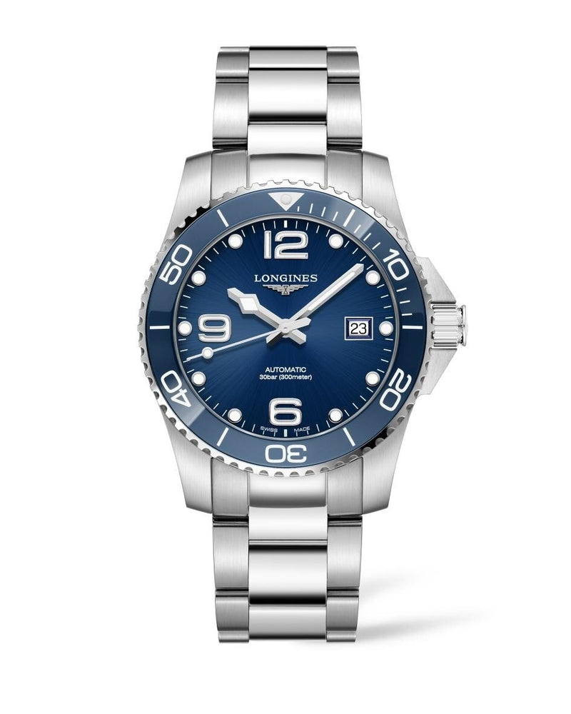 LONGINES HydroConquest Ceramic Blue Dial 41mm Automatic Diving Watch  Longines