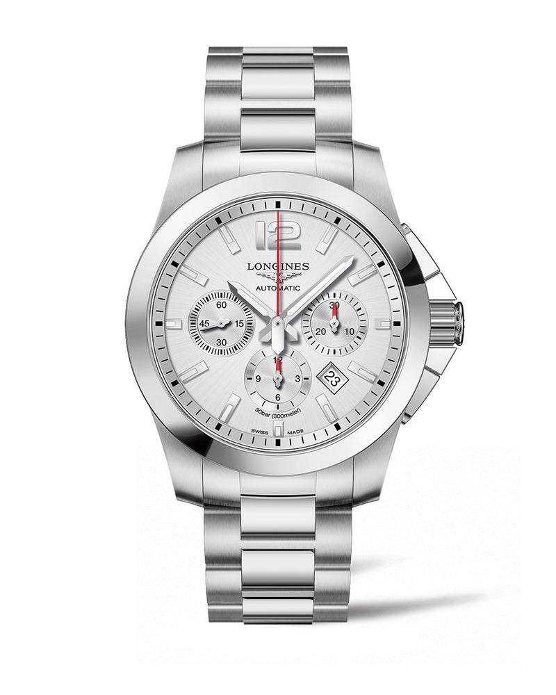 LONGINES Conquest 44mm Chronograph  Longines