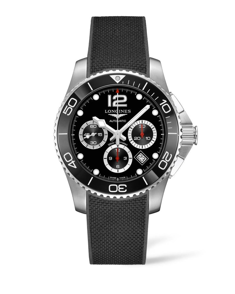 LONGINES HydroConquest 43mm Stainless Steel/Ceramic Chronograph  Longines