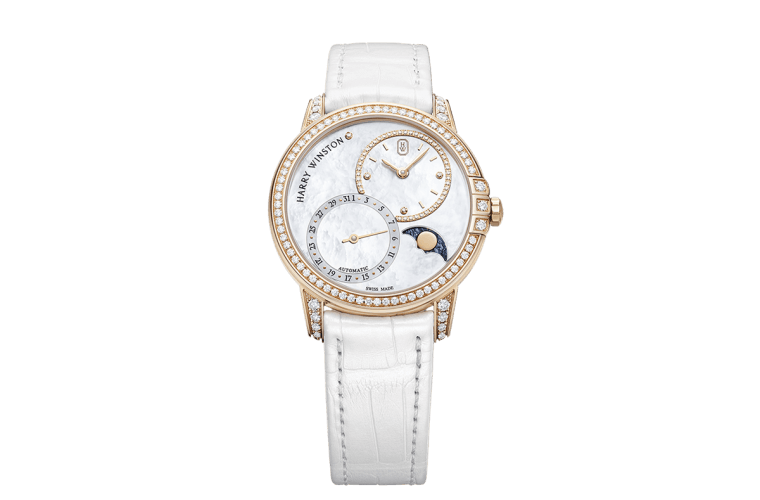 Harry Winston Midnight Date Moon Phase Automatic 36mm  Harry Winston