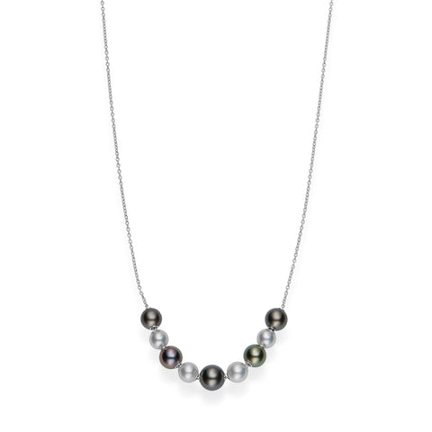 Mikimoto Pearls in Motion Necklace  Mikimoto