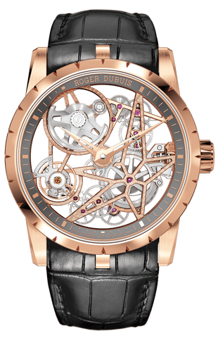 Roger Dubuis Excalibur Automatic Skeleton Golden - RDDBEX0698  Roger Dubuis