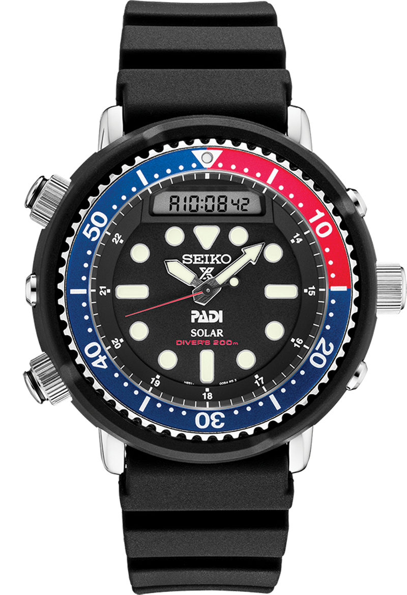 SNJ027 Modern Interpretation of the 1982 Hybrid Diver's Watch  Seiko