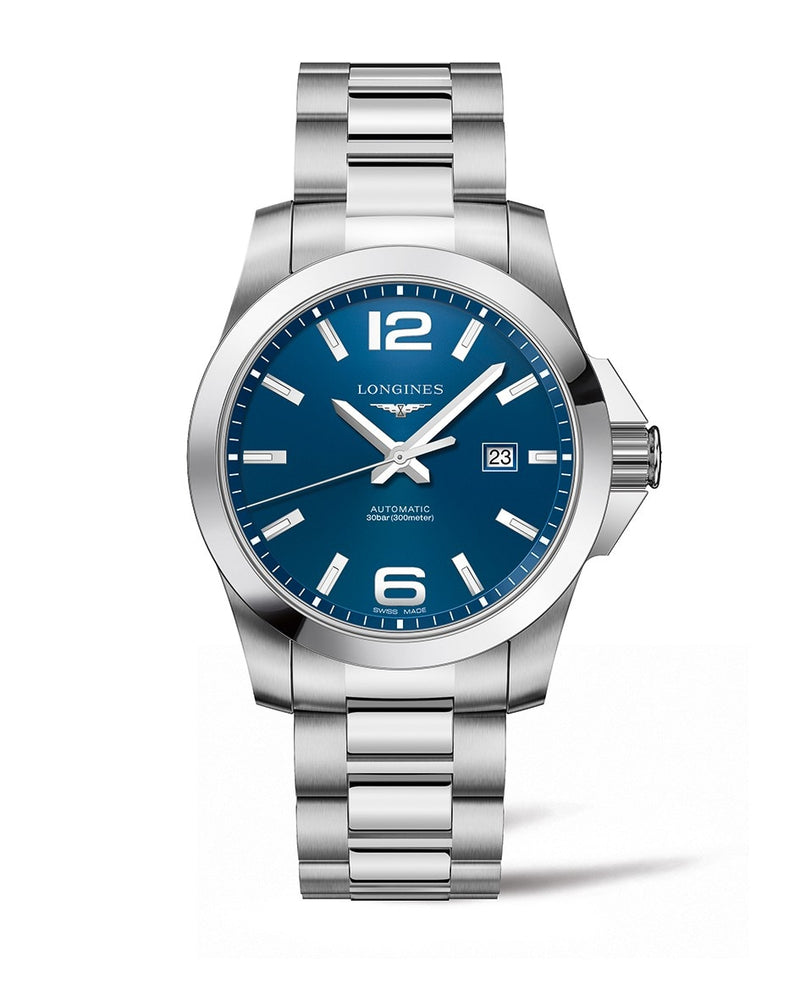LONGINES Conquest 43mm Blue Dial Automatic  Longines