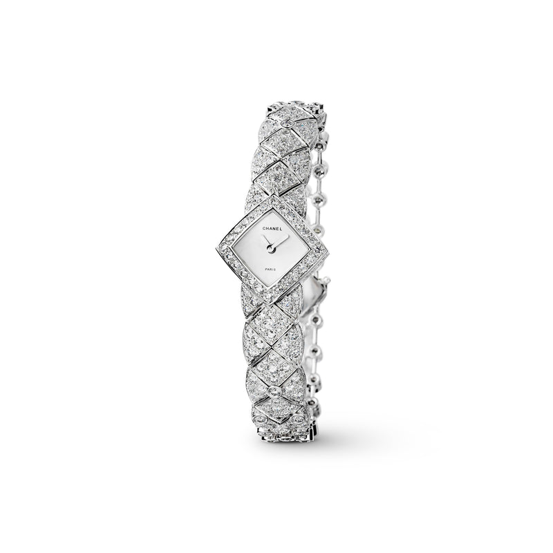Chanel Matelassée Jewelry Watch  Chanel