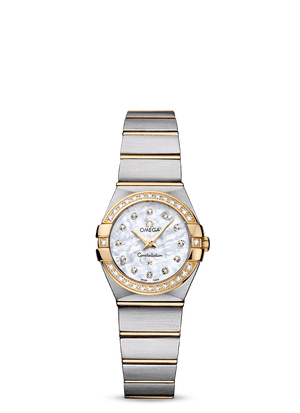 OMEGA CONSTELLATION QUARTZ 24 MM - Steel/Yellow Gold on Steel/Yellow Gold  Omega