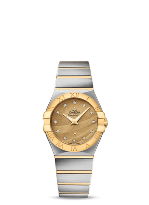 OMEGA CONSTELLATION QUARTZ 27 MM - Steel/Yellow Gold on Steel/Yellow Gold  Omega