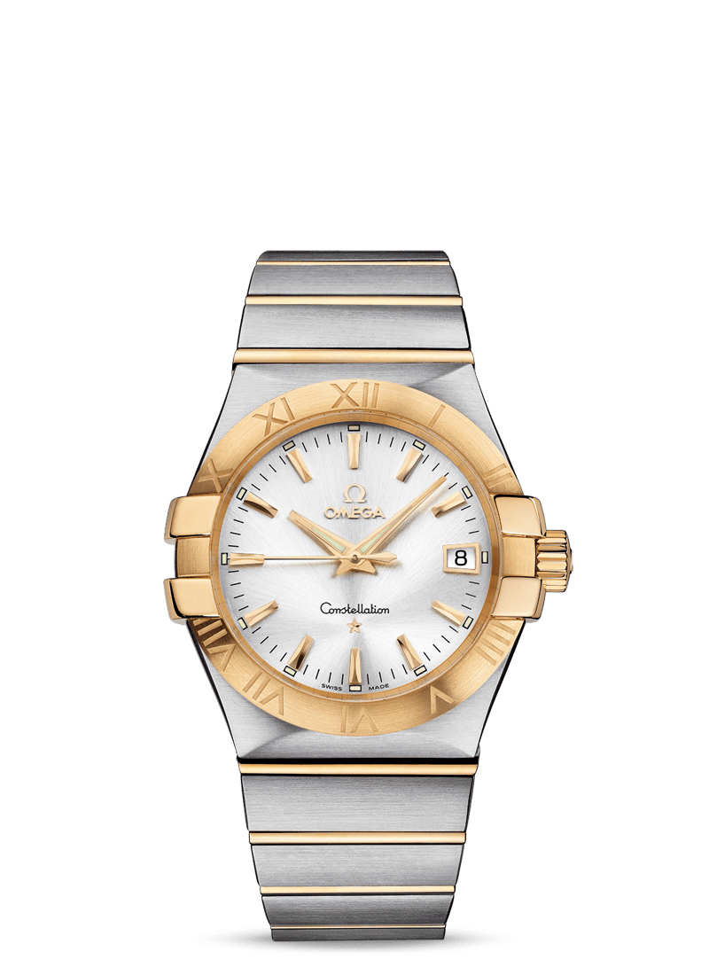 OMEGA CONSTELLATION QUARTZ 35 MM - Steel/Yellow Gold on Steel/Yellow Gold  Omega