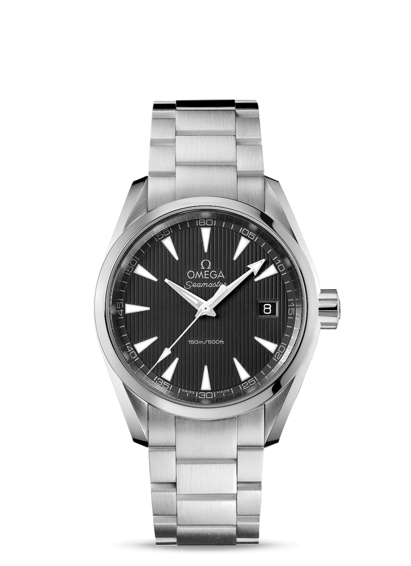 Seamaster AQUA TERRA 150M QUARTZ 38.5 MM - Steel on Steel  Omega