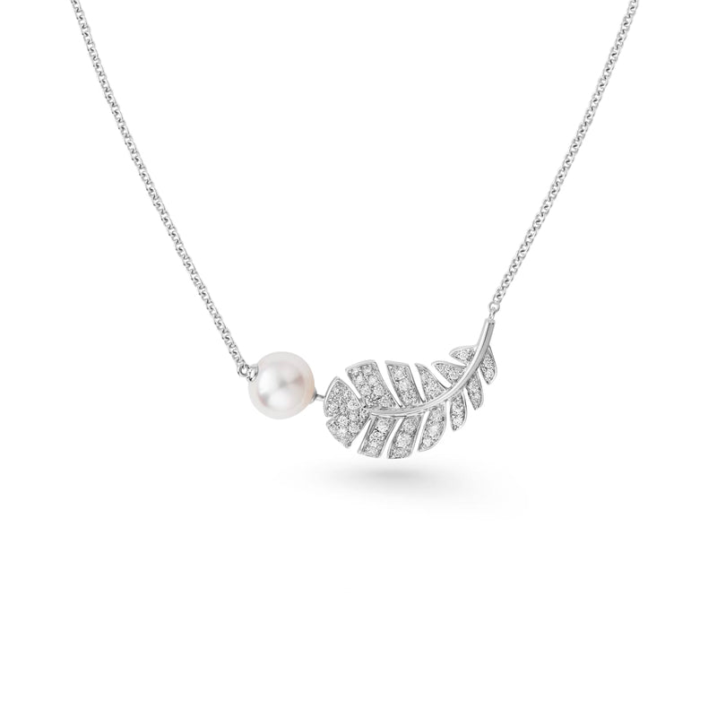 Plume de Chanel Necklace - J10832  Chong Hing Jewelers