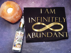 I AM Infinitely Abundant men's/unisex tee