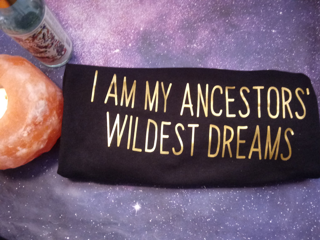 I AM My Ancestors' Wildest Dreams men's/unisex tee