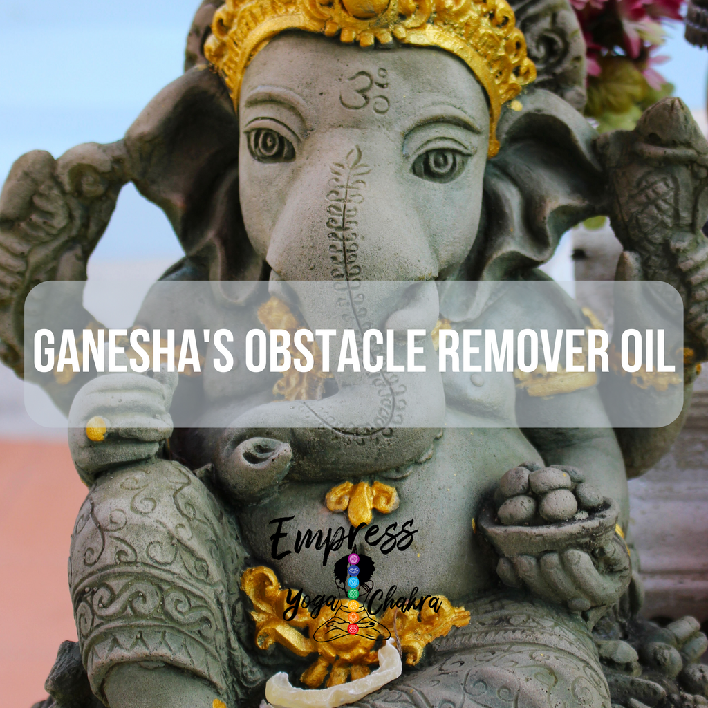 Ganesha's Obstacle Remover Oil