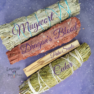 Smudge Sampler + Crystal