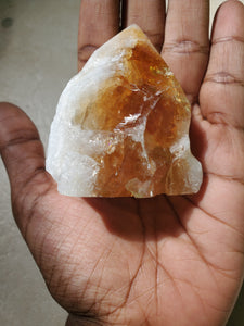 Reiki-Infused Large Citrine Point
