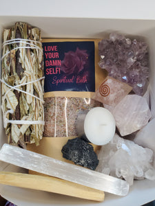 Self-love + Crystals Kit