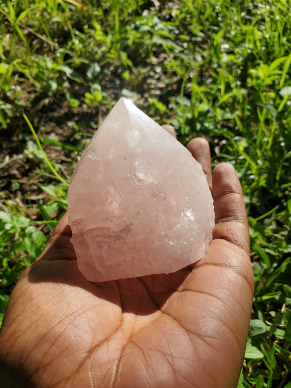 Rose Quartz Rough Point