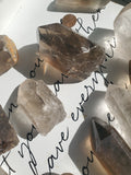Rough Smokey Quartz Point