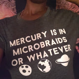 Mercury In Microbraids Crop Top