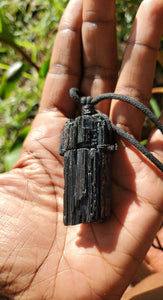 Black Tourmaline Necklace