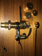 "Moerch DP6 12"" Gold Plated Tonearm comes complete in excellent condition"