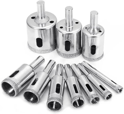 DIAMOND COATED CIRCLE DRILL BIT SET