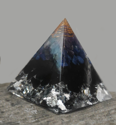 Pyramid Orgone Himalayas Crystal that attracts good luck good health and positive energy