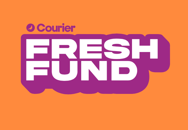 We Won a Courier Fresh Fund Grant!