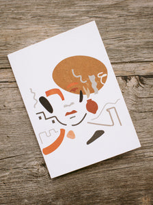 Abstract Illustration Card