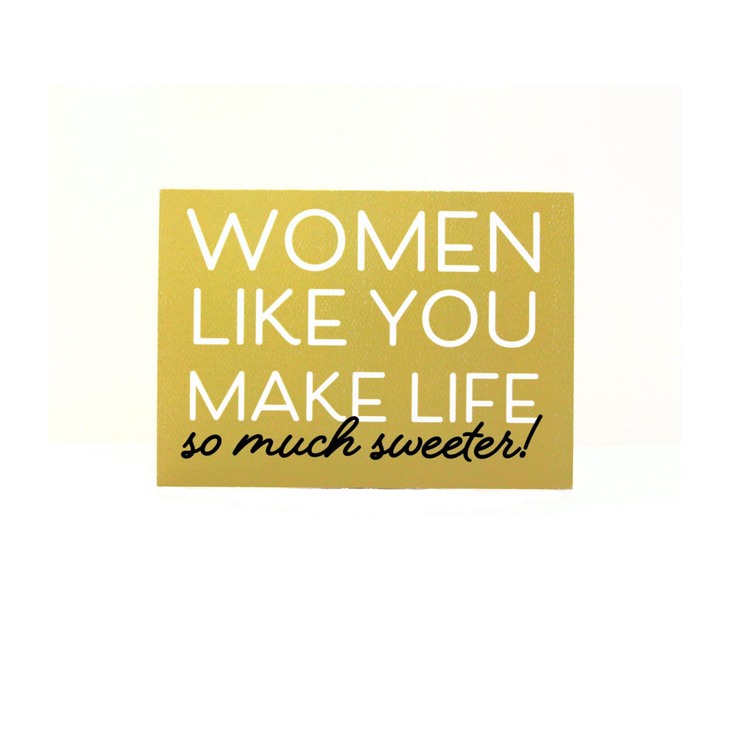 Women Like You Card