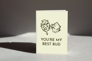 Best Bud Greeting Card