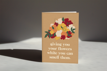 Load image into Gallery viewer, Giving You Flowers Card II