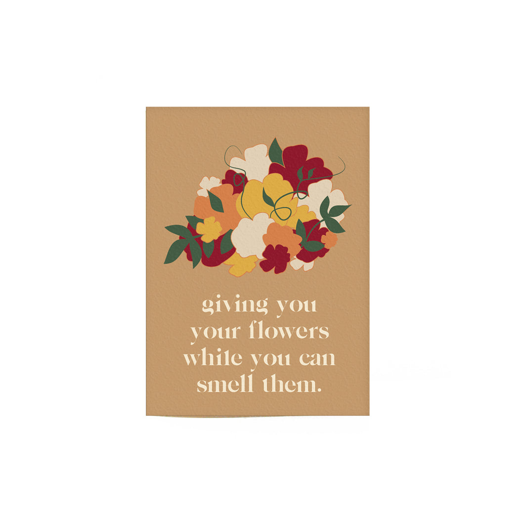 Giving You Flowers Card II