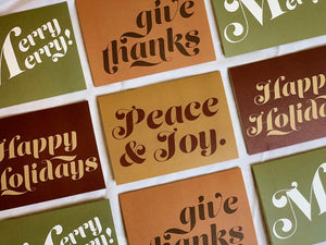 Holiday Card Set of 8
