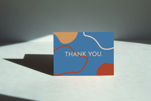 Retro Thank You Card Set