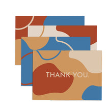 Load image into Gallery viewer, Retro Thank You Card Set