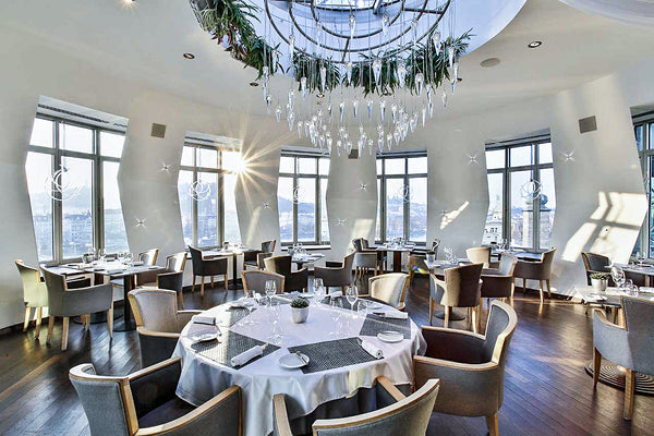 Dancing House Restaurant, Prague