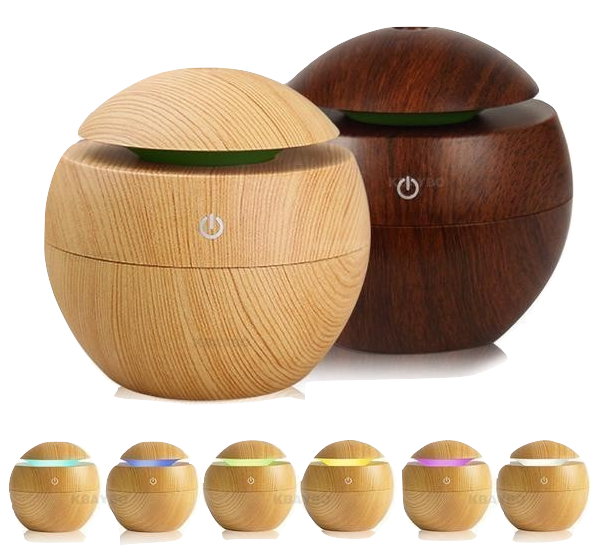 7-Color LED Aroma Oil Diffuser