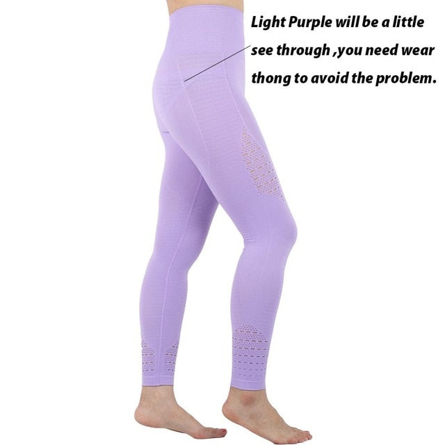 Womens Tummy Control High Waisted Yoga Pants