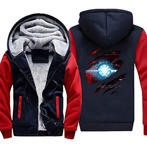 Super Hero Hoodie Superhero Pullover Sweatshirt 3D Print Zipper Jacket for Adults