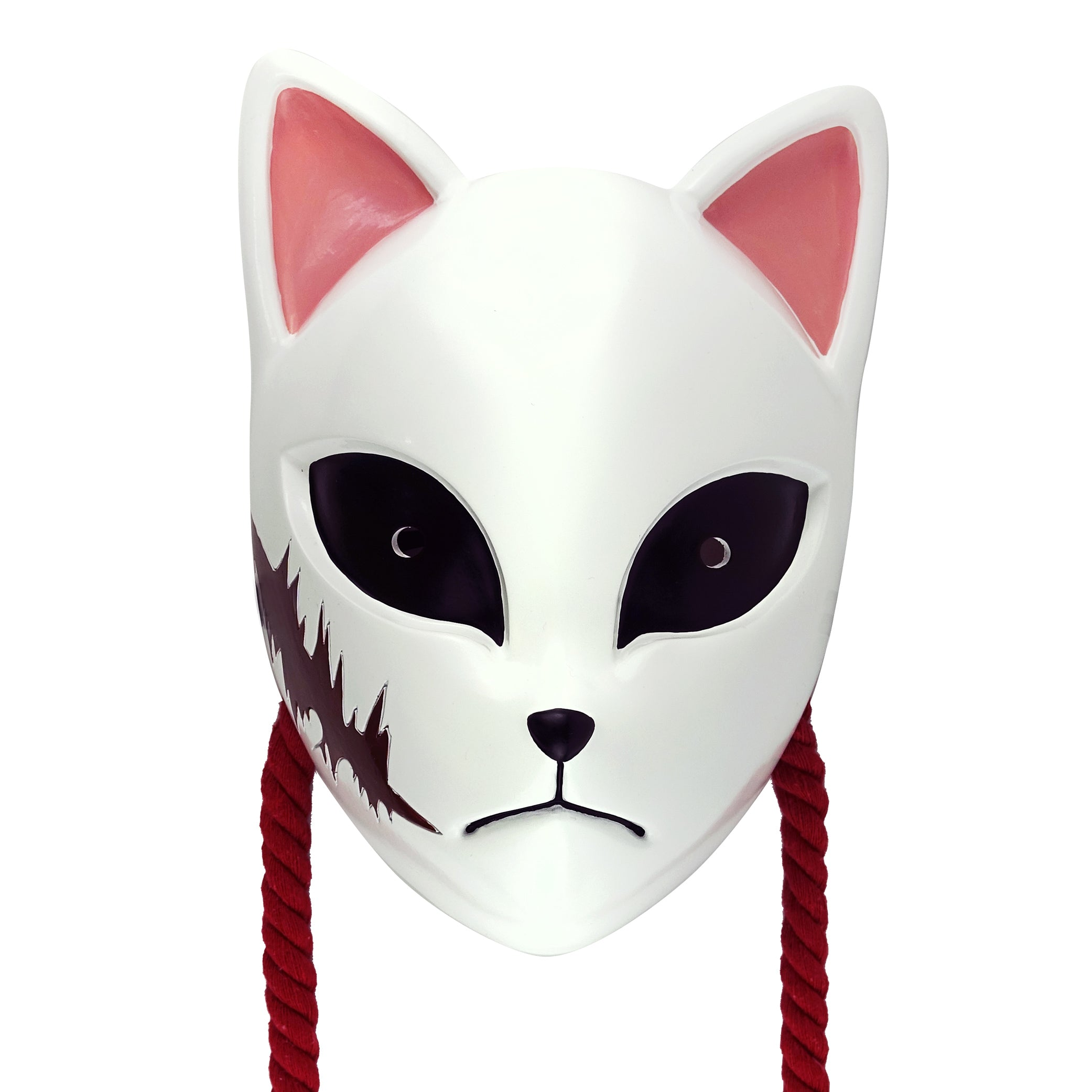 Demon Slayer Series Mask Kamado Tanjirou/Hashibira Inosuke/Sabito and Makomo Mask For Halloween Costume Accessory