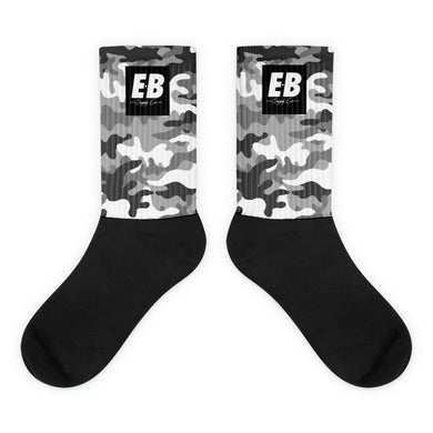 EB Box Logo Socks - Snow Camo