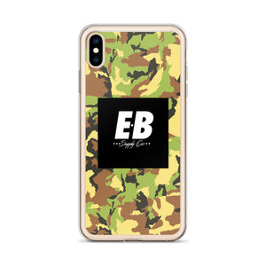 EB Box Logo Case - Green Camo